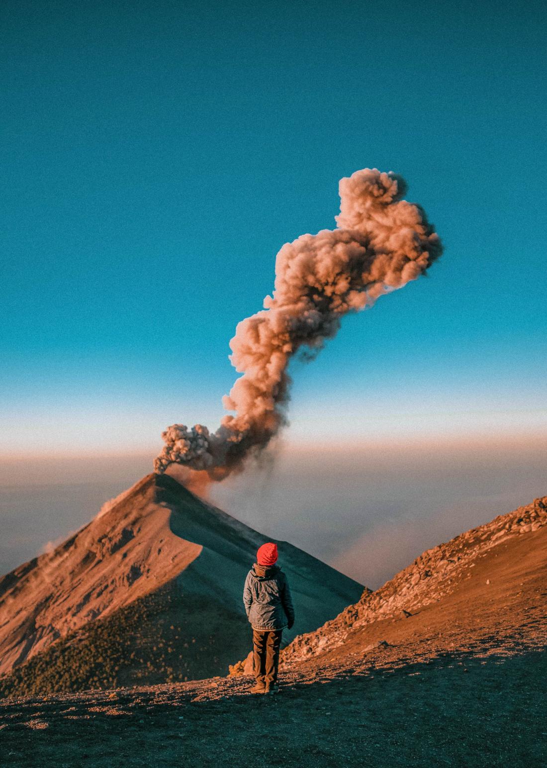 Život se sopkami